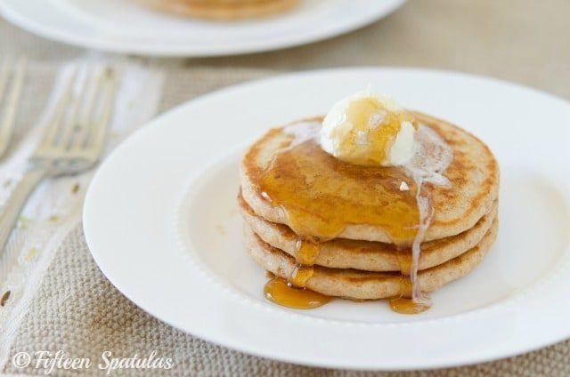 This Whole Wheat Pancakes recipe is the best! Read hundreds of rave reviews for these 100% whole wheat pancakes, they have delicious flavor.