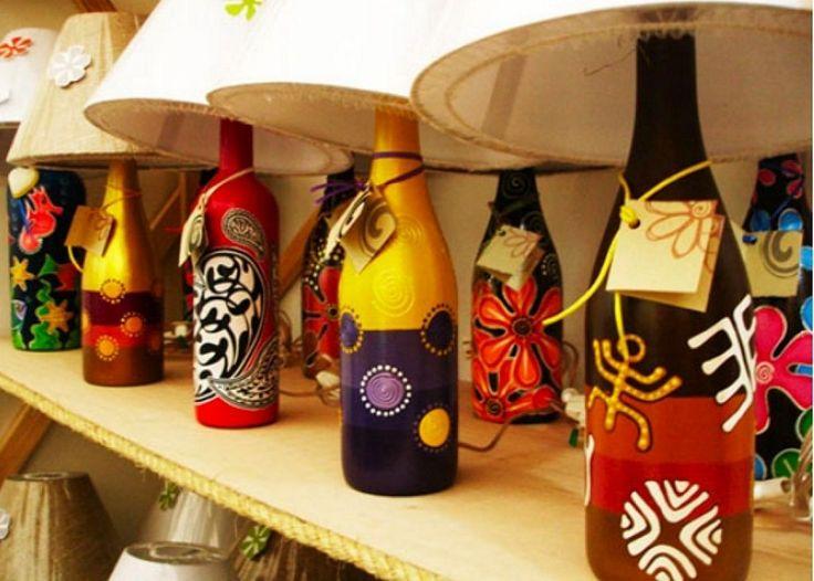 Ideas para reciclar botellas de vidrio | Ser ecológico es facilisimo.com