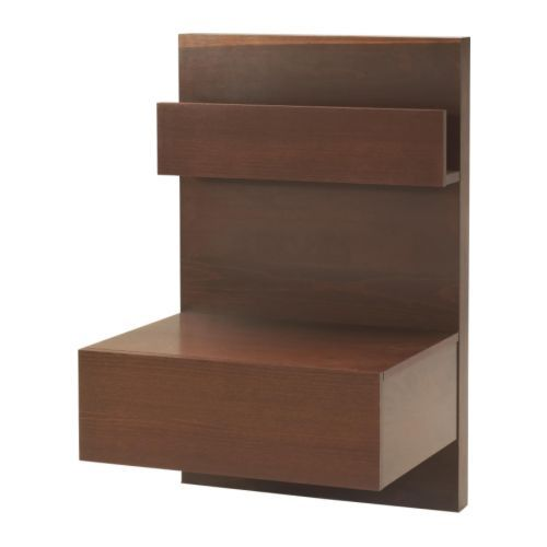 I like the idea of a shelf rather than a night stand.