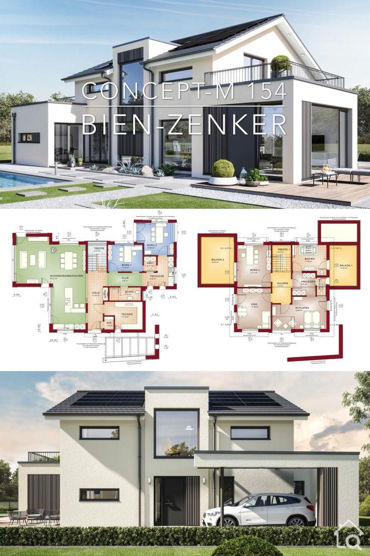 Modern Architecture House Plan & Interior Design – Concept-M 154