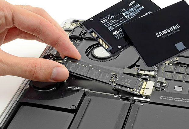Are you running your #MacBook Pro on hard disk? Do you know #SSDs are many times faster than Hard drives.  Just upgrading #RAM is not enough. Memory (RAM) will not improve the system's speed, it just help in performing multiple tasks.  So just think of upgrade your Hard drive with #SSD (Solid State Drive), Modern SSDs can improve the your laptop performance by 30 percent.