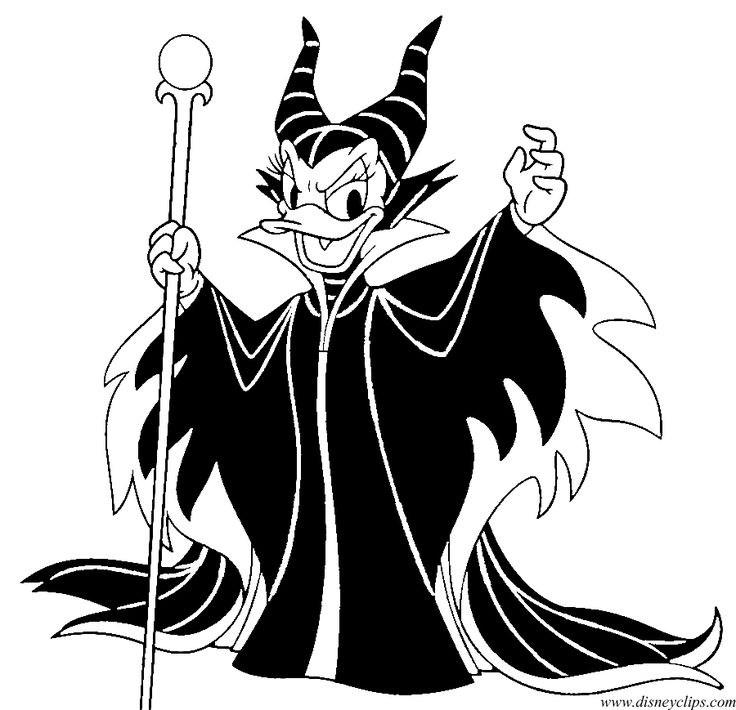 Disney Halloween Coloring Pages 3