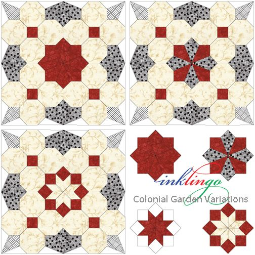 Octagon Quilting Templates : 1000+ images about Quilts with Octagons on Pinterest Gardens, The all and Shape