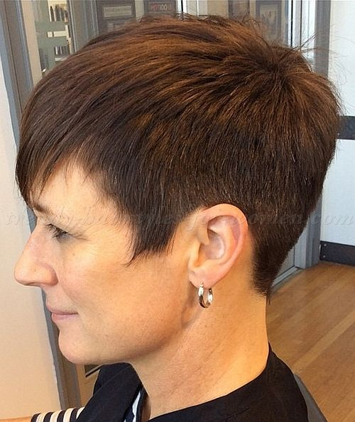 2016 Very Short Hairstyles For Women Over 60 Over 60