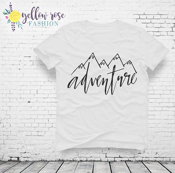 Adventure Mountain Shirt, Colorado, Women's Fashion Quote Shirt, Tshirt, Trendy, Cute, Modern, Gift For Her, Mom Gift, Graphic Tee, Apparel,