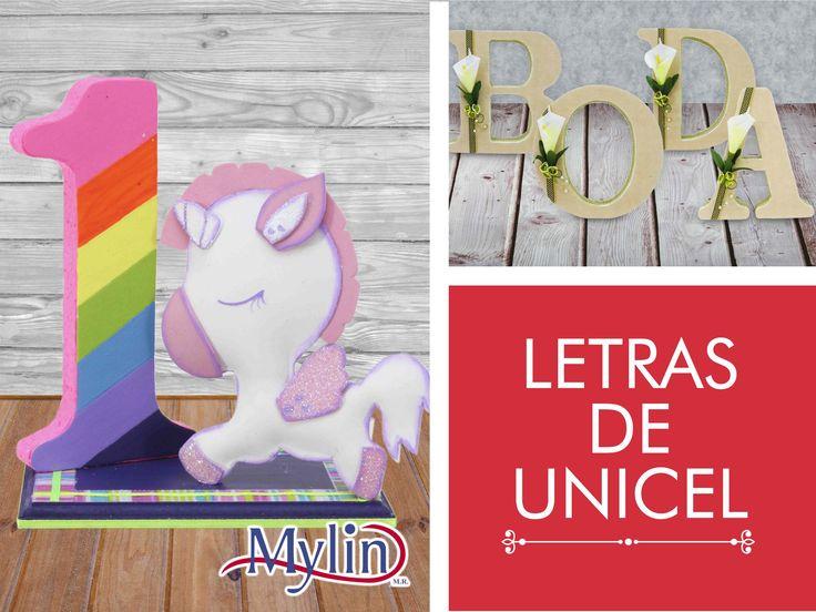 Crea maravillosos letreros con letras de unicel Descubre todas las ideas que tenemos para ti en fantasiasmiguel.com
