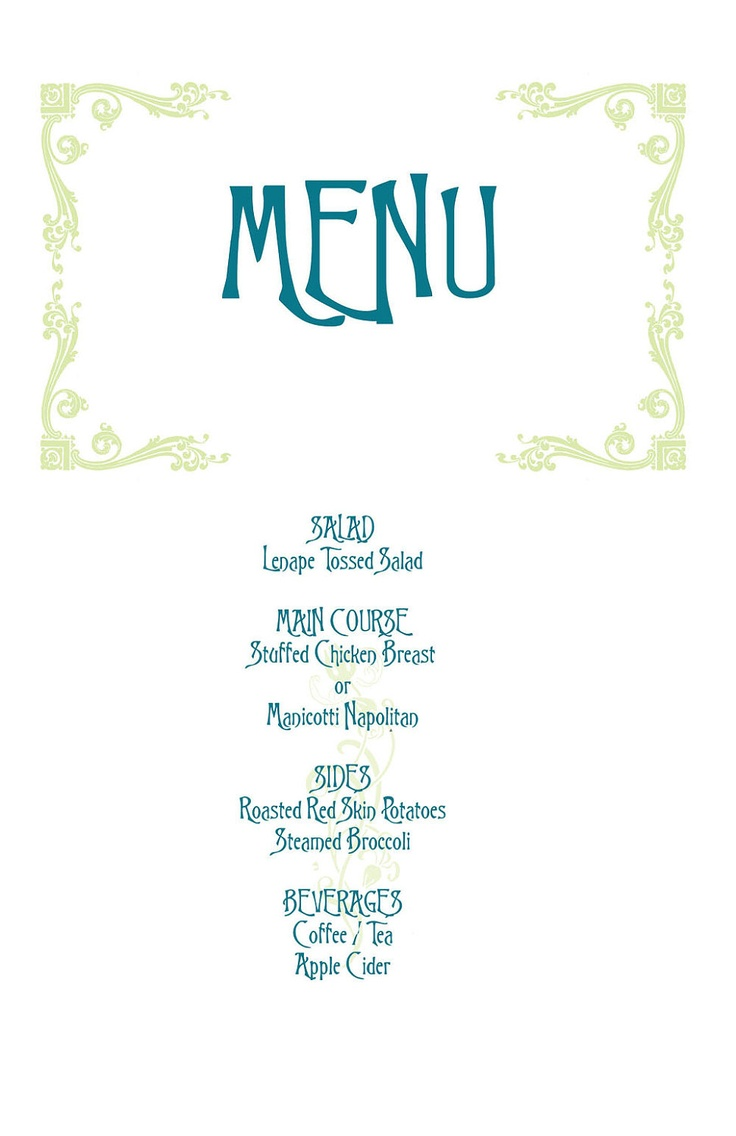 menu templates for weddings - 17 best images about mamma mia on pinterest wedding tops