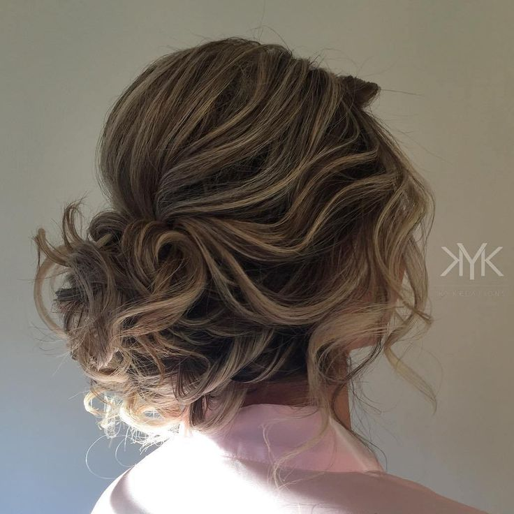 14 Best Maid Of Honor Hair Images On Pinterest