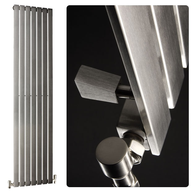 The Double Quick Delta Brushed Stainless Steel Radiators 2000mm (H) x 230mm (W) has a fantastic presence and is one of the best-selling radiators on the market. Furthermore, this stainless steel radiator is produced in the UK.  £433.38