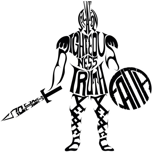 The Full Armor of God. (1) The Belt Of Truth  (2) The Breastplate Of Righteousness  (3) Feet Shod with the Preparation of the Gospel of Peace  (4) The Shield Of Faith  (5) The Helmet Of Salvation  (6) The Sword Of The Spirit (Ephesians 6:10-17)