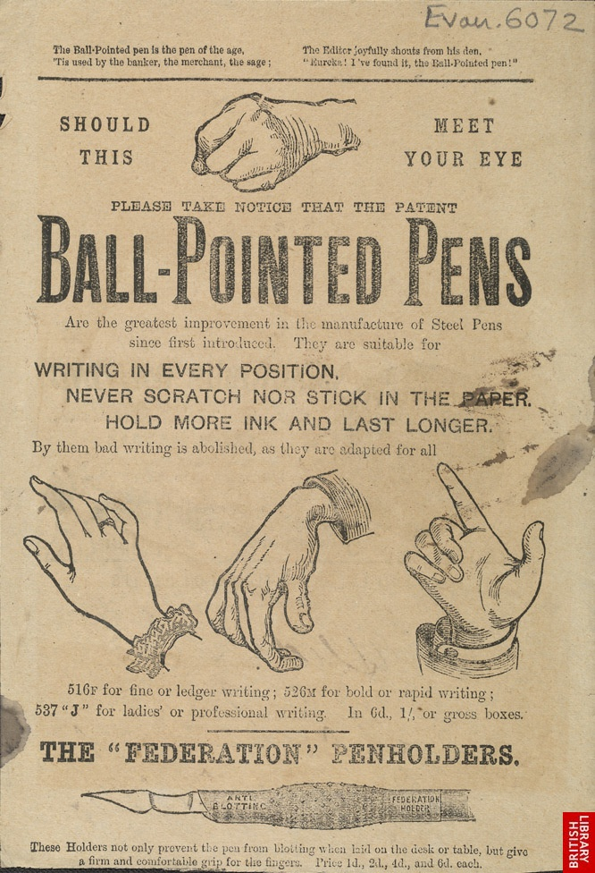 Advertisement On Pen