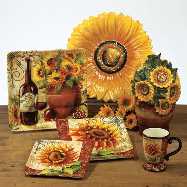 Best 20 sunflower design ideas on pinterest for Sunflower kitchen ideas