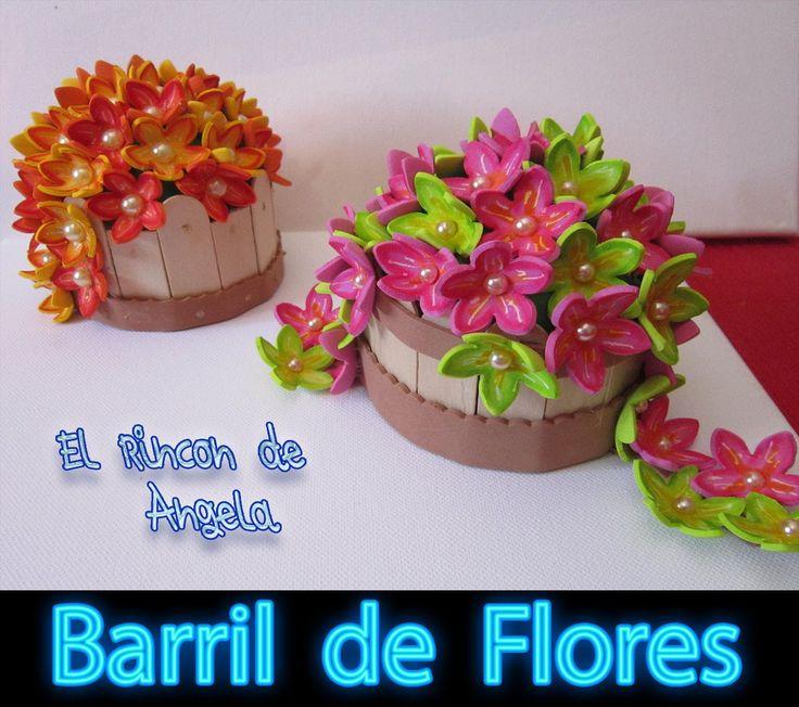 Más de 1000 ideas sobre Flores De Fomi en Pinterest   Fomi, Como ...