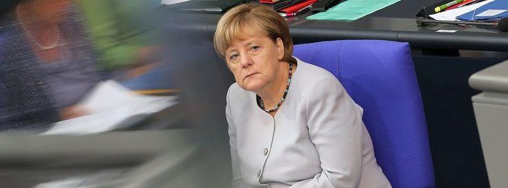 """Merkel glaubt weiter an Freihandelsabkommen mit den USA """"und unterschriebt alles, was Amerika vorlegt"""""""