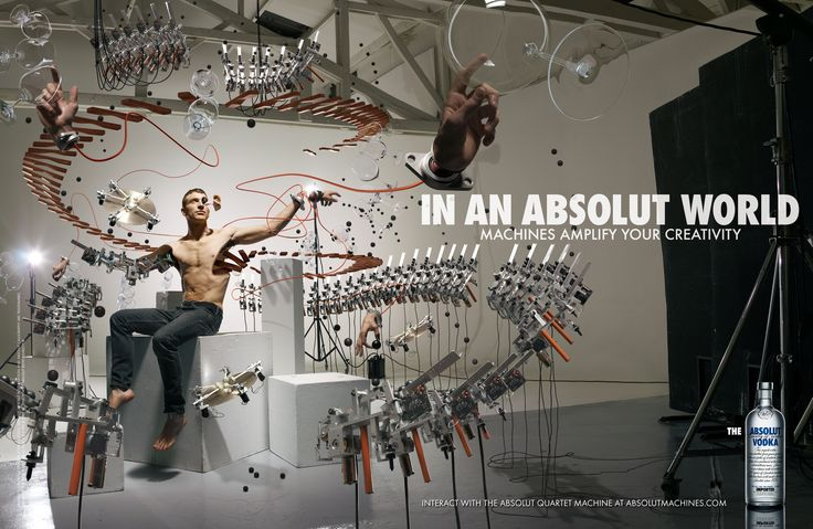In an Absolut Work - Machines Amplify Your Creativity