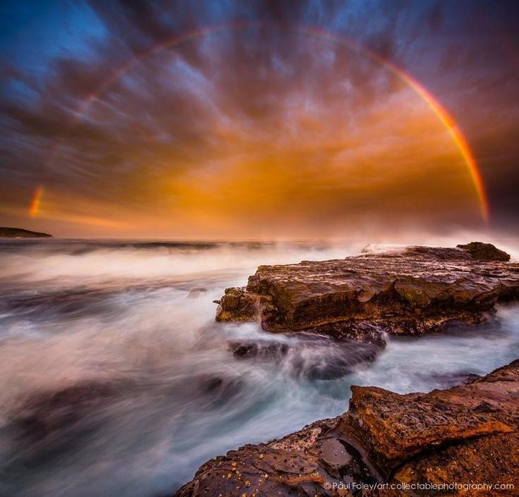 Sunset at Gerringong, NSW  Sent via twitter: @laupyelof  December 2012