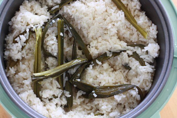 Nasi Lemak Recipe (Part 4) - Coconut Milk Rice