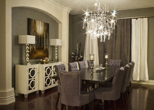 17 Best Ideas About Elegant Dining Room On Pinterest