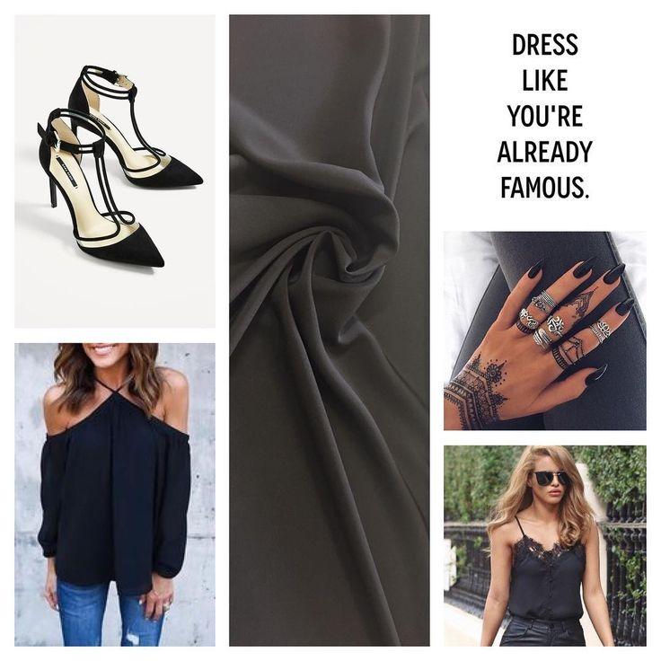 Сегодня пятница✨, а значит девочки сегодня врядли будут сидеть дома 💃🏼 Ведь пятницы всегда такие многообещающие 😏  Иногда, чтобы выглядеть стильно не нужны яркие принты, сдержанность часто выглядет более привлекательно и сексуально 🔥🆘❗️  Мы подобрали вам два варианта из чёрного шелка: блуза с открытыми плечами или майка с кружевом в бельевом стиле. Выбирай свой look !  + jeans 👖😜  + высокие каблуки 👠 = ты неотразима! ✨👍🏼…