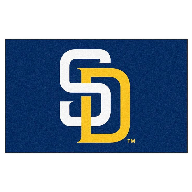 San Diego Padres MLB Ulti-Mat Floor Mat (5x8')