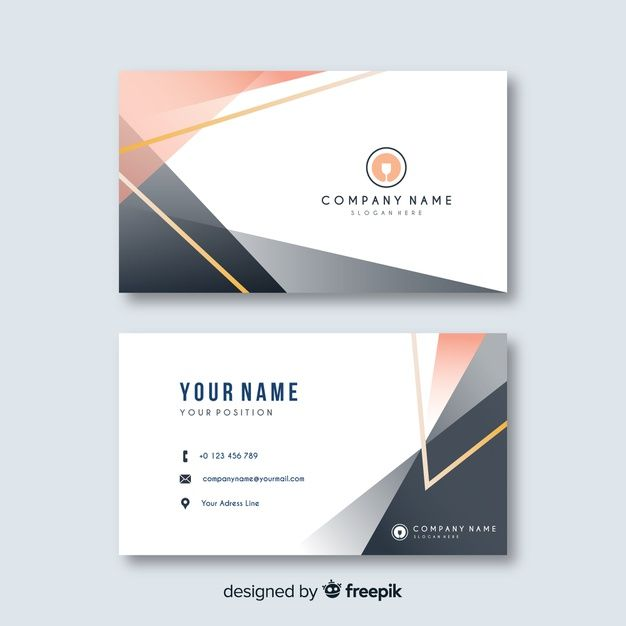 Download Abstract Business Card Template For Free Shablon