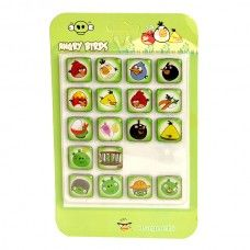 Angry Birds Buzdolabı Magnetleri (18 Adet)