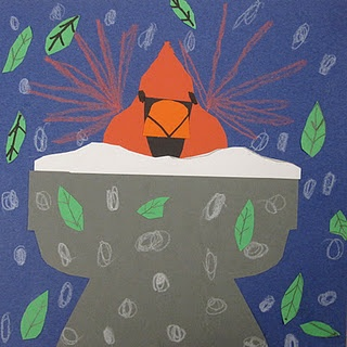 charley harper cardinals - love these!: Snow Birds, Winter Art, Zamora Brite, Harpers Cardinals, Art Ideas, Charley Harpers, Shinee Brite, Charley Snow, Art Projects