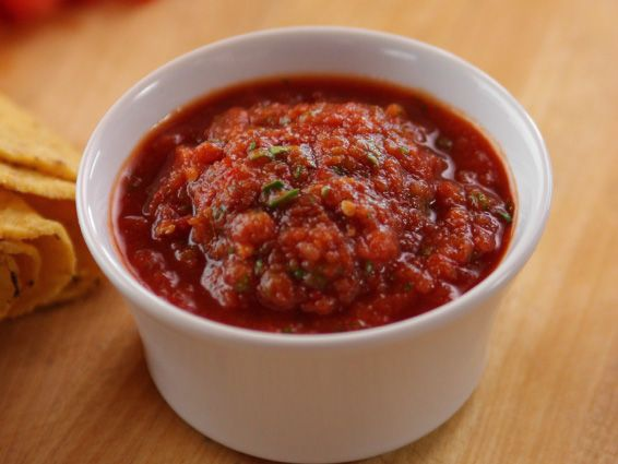 Our favorite salsa! Ready in 10 minutes!! Chipotle Salsa Recipe : Ree Drummond. If you don't like spice, just omit the chipotle peppers.