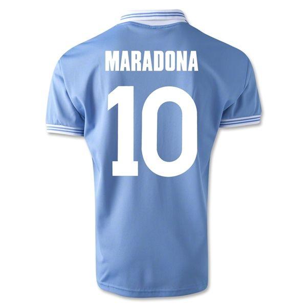 Napoli 1986 Maradona Home Soccer Jersey