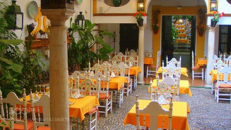 Spanish restaurant by jerzyhuzarski