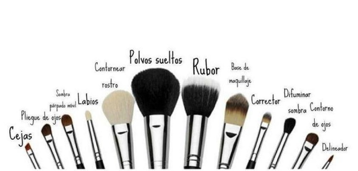 uso brochas maquillaje