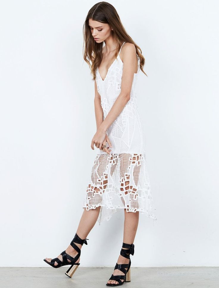 ISLA  - Friction Mini Dress - White