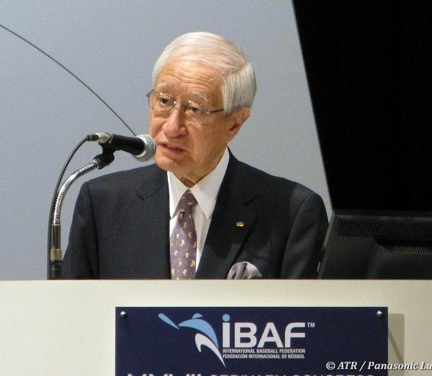 Ryozo Kato, Commissioner of Nippon Professional Baseball in Japan (Around the Rings).