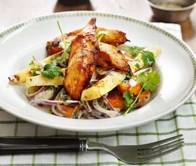 kyckling med sötpotatis