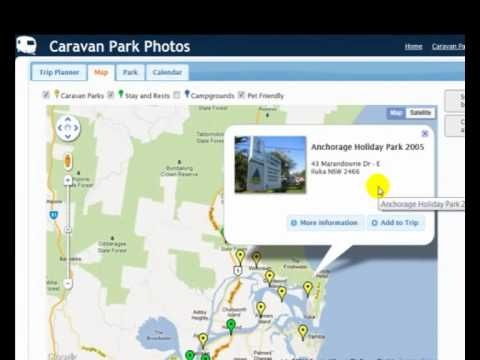 Brilliant Trip Planner for owners of Caravans and Motorhomes