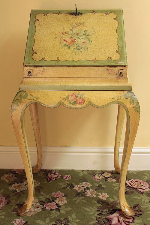 Vintage Home - Exquisite 1940s Ladies Writing Bureau.