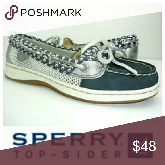 Sperry Angelfish Top Sider Boat Shoes 8.5 Womens Sperry Angelfish Top Sider Boat Shoes 8.5 Womens. These are so cute! I so wish they would have fit, they have just been gently used so no major signs of wear at all ..great shoes! Sperry Top-Sider Shoes Flats & Loafers