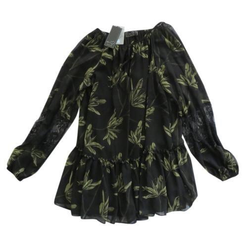 KI6? WHO ARE YOU? - miniabito tunica foglie KI6