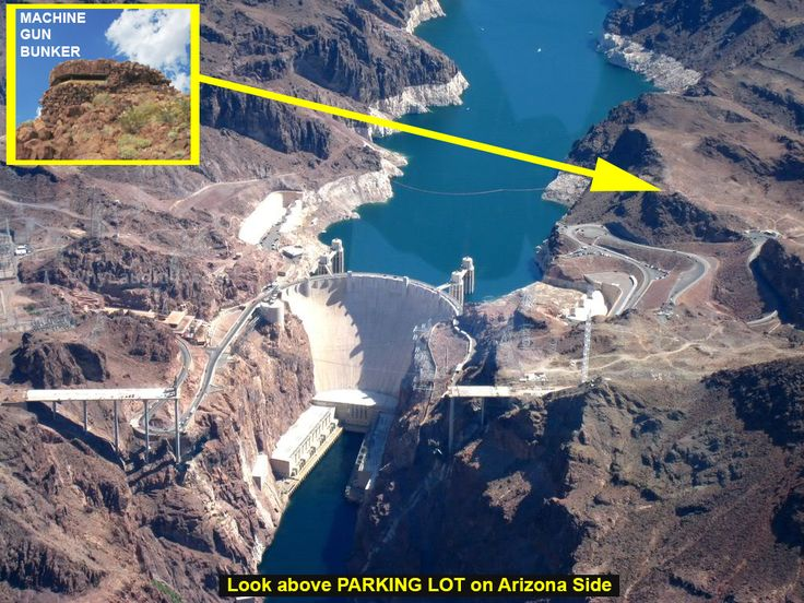 How to find the Hoover Dam Machine Gun Pillbox   The Sands ...
