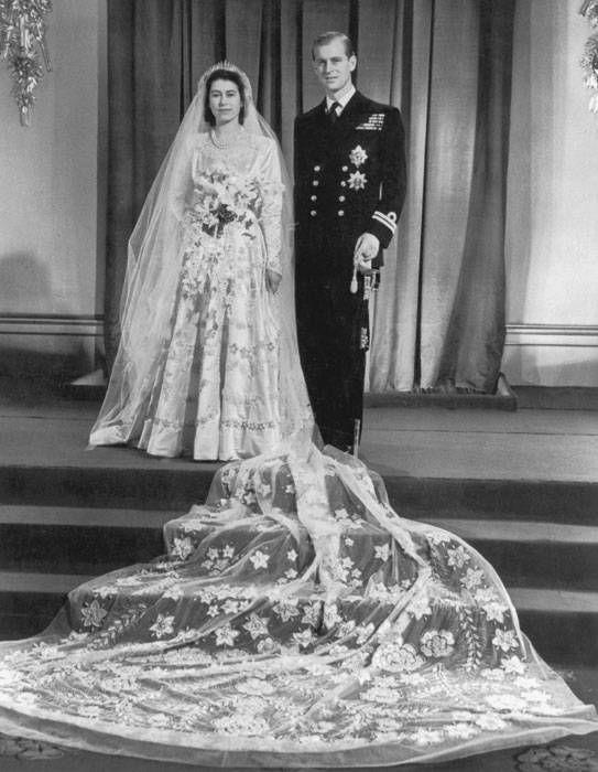 Queen Elizabeth II & Prince Philip 1947