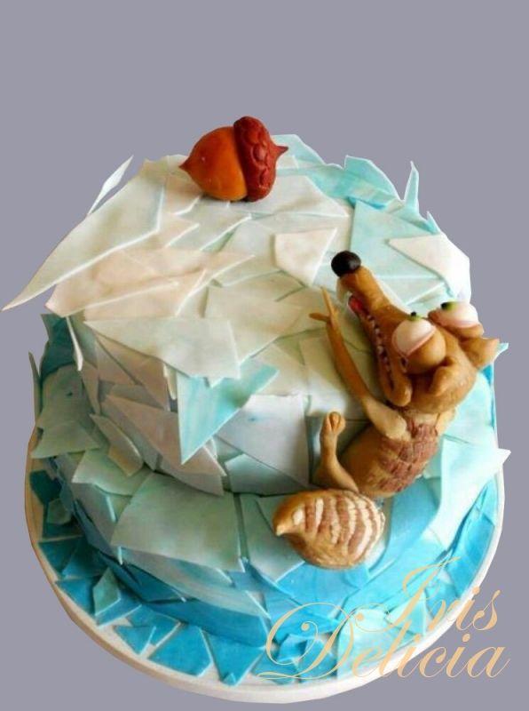 """Торт """"Ледниковый период"""" №4115"""