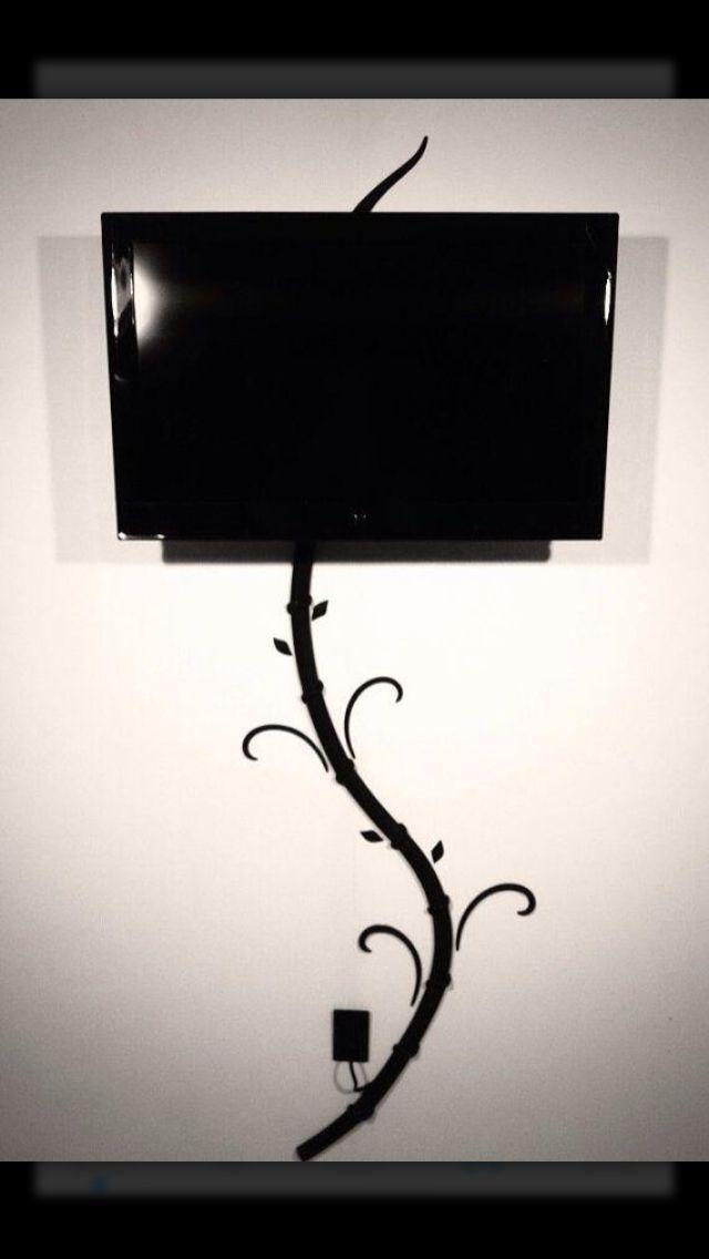 14 besten kabel verstecken bilder auf pinterest wohnideen kabel und kreativit t. Black Bedroom Furniture Sets. Home Design Ideas
