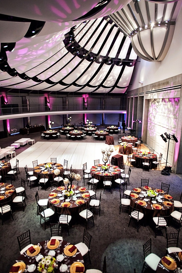 Over the Top wedding reception deco and