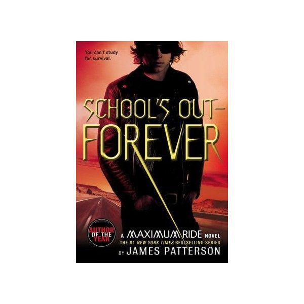 BARNES & NOBLE | School's Out - Forever (Maximum Ride Series #2) by... ($8.99) ❤ liked on Polyvore featuring books and maximum ride