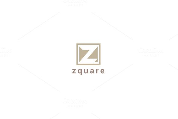 Z Square Hotel Logo - Letter Z Logo by wopras on @creativemarket