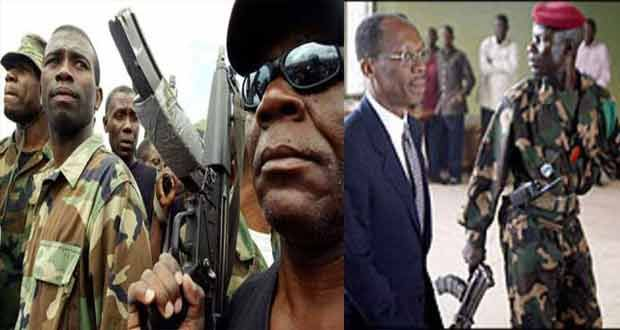 Jean Bertrand Aristide removed from power in Haiti