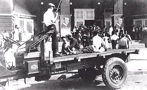 May 31,1921The Tulsa Riots was the worst riot in American History. 15K Blacks were left homeless, Appr. 300 - 3000 died, wounded and/or missing, 1500 homes were burned to the ground & over 600 Black owned businesses were bombed in the Greenwood District of Tulsa, Oklahoma. It was the 1st American city bombed by airplanes. More people died this day than in any single event since the Civil War. White historians wiped their footprints from the sand. Reference can't be found in any history…