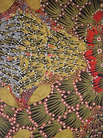 Bush Banana: Floral Patterns, Bush Banana, P P P P Pattern, Design Colour Pattern, Australian Pattern, Color Palette, Australian Textile, Fabric S Art Quilts, Folk Color Pattern