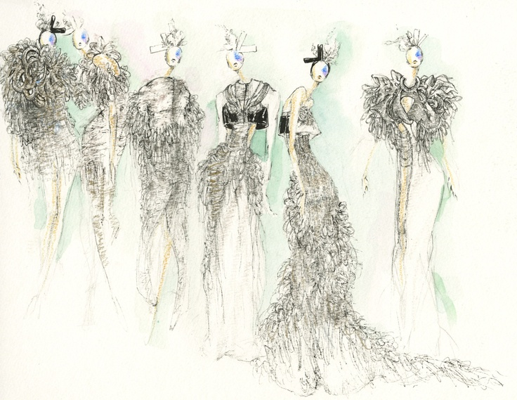 fashion illustration croquis | Art - Fashion Illustration ...
