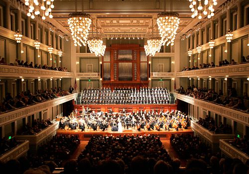 #3. Boston Symphony Hall  Top 10 Tourist Attractions in Boston – Things To See in Boston